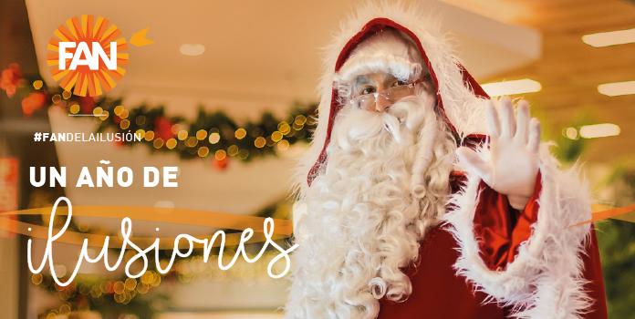 ¡Comparte con nosotros la Navidad celebrando un año lleno de ilusiones!
